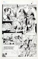 MIGNOLA, MIKE / CRAIG RUSSELL - Marvel Fanfare #43 pg 9 semi-splash, Sub-Mariner 1989 Comic Art