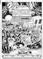 MIGNOLA, MIKE - Rocket Racoon #2 pg 1 splash, 1st series masquerade - Marvel Guardians of Galaxy movie hero Comic Art