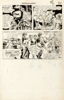 FRADON, RAMONA - Metamorpho #2 large 2/3rds pg 20, Simon & Shapphire taken to captive Metamorpho Comic Art