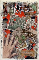 KALUTA, MIKE - Books of Magic #59 painted cover with logo overlay, Tim Hunter & photo history Comic Art