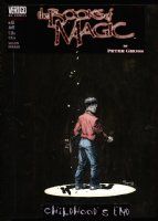 KALUTA, MIKE - Books of Magic #61 painted cover with logo overlay, Tim Hunter 1999 Comic Art