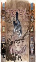 KALUTA, MIKE - Books of Magic TPB #2 cover, full painting w/ logo overlay. Tim Hunter learns some painful truths about his family!   Comic Art