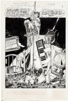 KALUTA, MIKE - House of Secrets #92 inside cover Splash / intro, Host Abel and spiders Comic Art