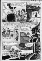 KALUTA, MIKE - Witching Hour #7 pg 1 - the devil Comic Art