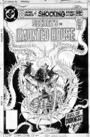 KALUTA, MIKE - Secrets of Haunted House #29 cover, demonic serpent design Comic Art