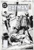 APARO, JIM / BILL SIENKIEWICZ - Batman #416 cover, Nightwing & Robin Comic Art