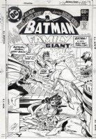 APARO, JIM - Batman Family #14 cover, death of Batwoman, with Batgirl and Robin Comic Art