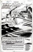 APARO, JIM - Brave and the Bold #133 Splash pg 1, Batman and Deadman  1977 Comic Art