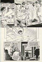 APARO, JIM - Wraith of Spectre #4 pg 15 - last Adventure Comics 1970s story, Spectre turns Voodoo Priestess into spider Comic Art