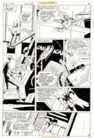 APARO, JIM - Brave and the Bold #136 pg 6, Batman and Metal Men Comic Art