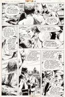 APARO, JIM - Brave And The Bold #114 pg 14, Batman & Aquaman Comic Art