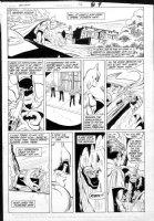 APARO, JIM - Batman #415 pg 7, Batman to Batcave (see below for history / status notes) Comic Art