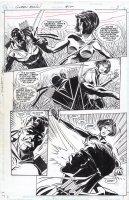 APARO, JIM - Green Arrow #100 pg 3, Green Arrow vs villainess Comic Art