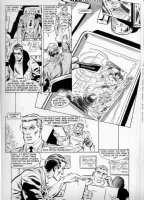 APARO, JIM - Wraith of Spectre #4 pg 11 - last Adventure Comics 1970s story - Spectre in photo Comic Art