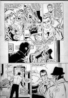 APARO, JIM - Wraith of Spectre #4 pg 12 - last Adventure Comics 1970s story - reporter hero & editor argue Spectre photos Comic Art