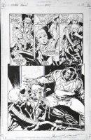 APARO, JIM / BILL SIENKIEWICZ - Green Arrow #109 pg 13 half-splash  Comic Art