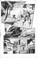 APARO, JIM - Green Arrow #83 pg, GA & Hollywood sign Comic Art