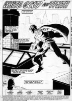 APARO, JIM - Batman #416 pg 1, Splash - New Robin  Comic Art