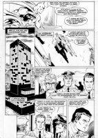 APARO, JIM - Batman #419 pg 5;  Ten Nights of the Beasts!  Comic Art