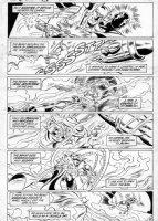 APARO, JIM - Batman #420 pg 18;  Ten Nights of the Beasts!  Comic Art