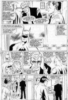 APARO, JIM - Batman #419 pg 3,  Ten Nights of the Beasts!   Batman & Gordon Comic Art