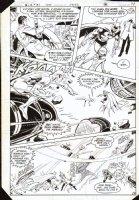APARO, JIM - Brave And The Bold #187 pg 10 - Batman & Metal Men Comic Art