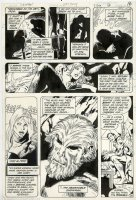 GARCIA-LOPEZ, JOSE LUIS - Batman #337 pg 13, Batman reads case of Yeti, 1st app. Snowman 1981 Comic Art