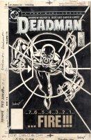 GARCIA-LOPEZ, JOSE LUIS - Deadman #2 cover, Deadman in sites Comic Art