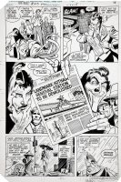 GARCIA-LOPEZ, JOSE LUIS - Batman #353 pg 4, rare appearance of the Joker from this period Comic Art