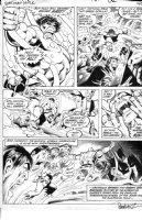 GARCIA-LOPEZ, JOSE LUIS - Batman vs Hulk Treasury pg 40, Hulk Batman & Joker Comic Art