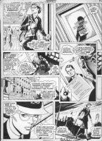 GARCIA-LOPEZ, JOSE LUIS - Superman vs Wonder Woman Treasury larger pg, WW / Diana in military dress uniform Comic Art