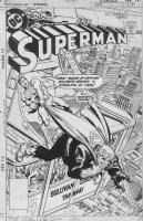 GARCIA-LOPEZ, JOSE LUIS - Superman #320 cover, Supes vs Solomon Grundy Comic Art