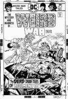 GARCIA-LOPEZ, JOSE LUIS - Weird War #41 cover, Civil War canon vs ghost Comic Art