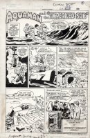 SWAN, CURT - DC inside cover July 1978 - Aquaman & Aqualad in Hostess ad Comic Art