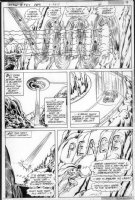 SWAN, CURT - Action #487 pg 4,  Superman  Peace  Comic Art