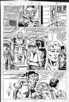 MCFARLANE, TODD - Incredible Hulk #330 page 11, Doc Samson, Betty - Todd's 1st Issue Comic Art