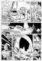 MCFARLANE, TODD - Hulk #331 pg, Banner, Hulk busters Comic Art