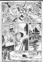 GIBSON, IAN / JOE STATON - DC Millennium #4 pg 29, Batman Comic Art