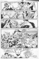 GIBSON, IAN / JOE STATON - DC Millennium #8 pg 29, GL Corp Comic Art