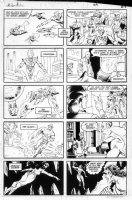 GIBSON, IAN finishes - DC Millennium #1 page 21 Comic Art