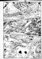 GIBSON, IAN finishes - DC Millennium #6 page 20 Comic Art