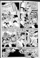 GIBSON, IAN finishes - DC Millennium #7 page 11 Comic Art