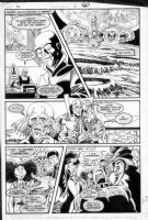 GIBSON, IAN finishes - DC Millennium #8 page 11 Comic Art
