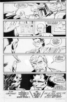 GIBSON, IAN finishes - DC Millennium #? page 30 Comic Art