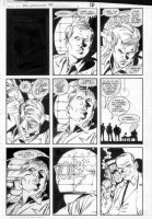 GIBSON, IAN finishes - DC Millennium #3 page 5 Comic Art