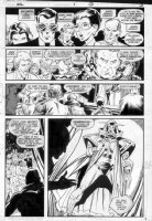 GIBSON, IAN finishes - DC Millennium #1 page 3 Comic Art
