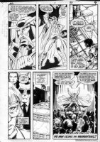 GIBSON, IAN finishes - DC Millennium #1 page 4 Comic Art