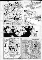 GIBSON, IAN finishes - DC Millennium #1 page 6 Comic Art