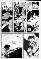 GIBSON, IAN finishes - DC Millennium #1 page 9 Comic Art