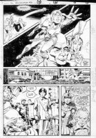 GIBSON, IAN finishes - DC Millennium #2 page 11 Comic Art